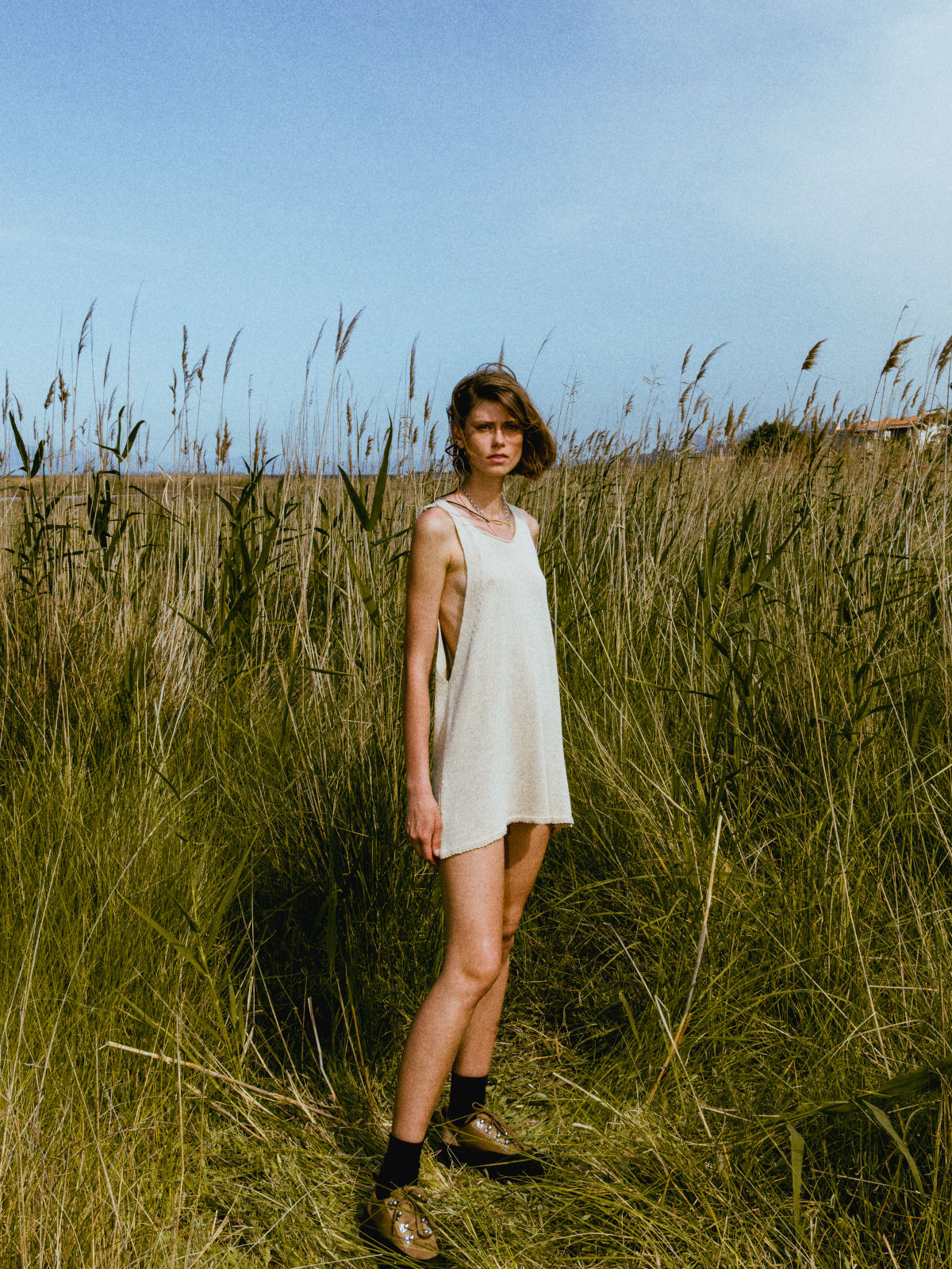 Knitted tank top/dress