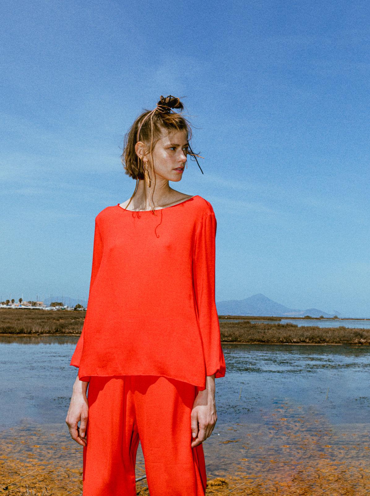 Jojoto blouse red