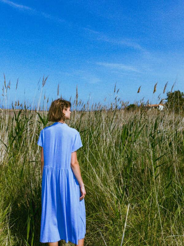 nakami dress lila