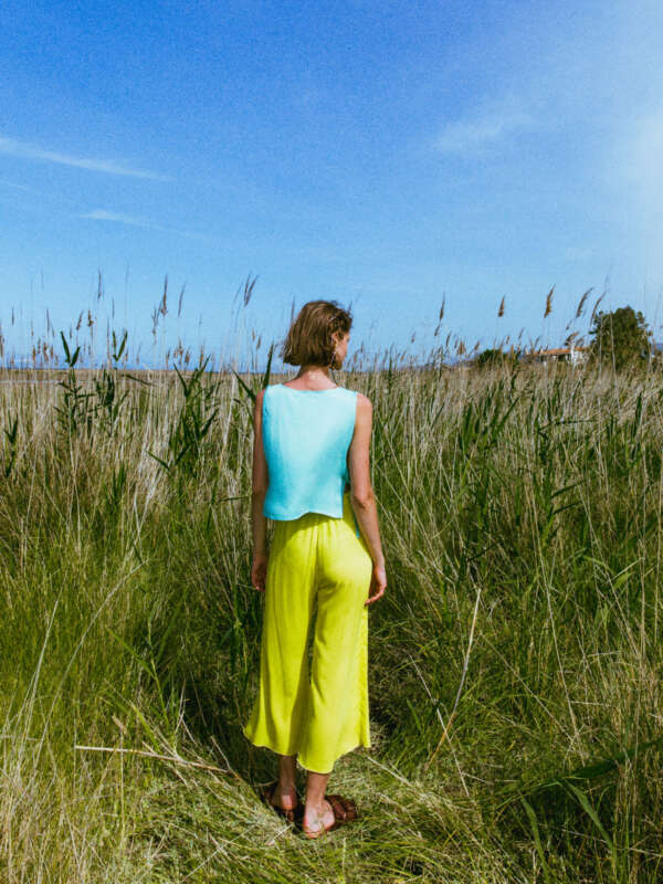 Jojopa pants lime- back